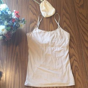 American eagle outfitters medium tan cami women's